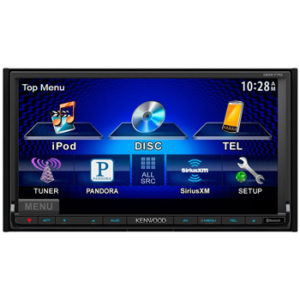 DDX770 Car DVD Player - 7 Touchscreen LCD - 88 W RMS - Double DIN