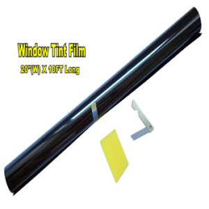 LEXEN 20 X 10FT ROLL 35% MEDIUM SHADE WINDOW TINTING FILM TINT UNCUT 20x1035%