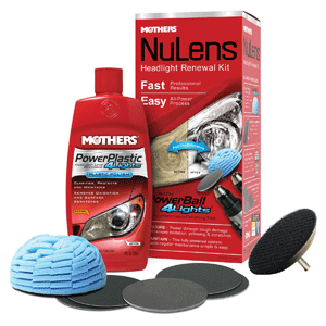 Mothers 07251 NuLens Headlight Renewal Kit