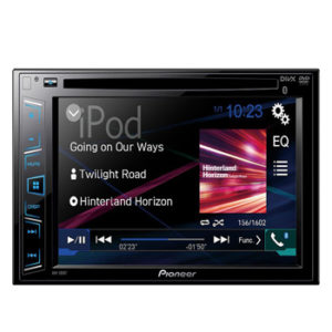 Pioneer AVH-280BT In-Dash DVD Receiver with 6.2 Display and Bluetooth