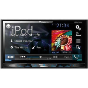 Pioneer AVH-X5700BHS 7 Double-DIN DVD Receiver with Motorized Display, Bluetooth, Siri Eyes Free