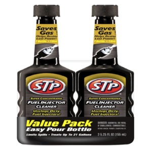STP 78577 Super Concentrated Fuel Injector Cleaner - 5.25 oz., (Pack of 2)