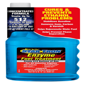 Star Tron Enzyme Fuel Treatment - Concentrated Gas Formula 32 oz - Treats 512 Gallons