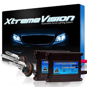 XtremeVision® 35W HID Xenon Conversion Kit with Premium Slim Ballast - 9007 6000K - Light Blue - 2 Year Warranty