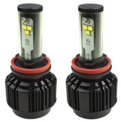 Kensun Car LED Headlight Bulbs Conversion Kit with Cree Chips 60W 6000LM - Size H11
