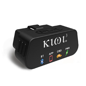 PLX Devices Kiwi 3 Bluetooth OBD2 OBDII Diagnostic Scan Tool for Android, Apple, & Windows Mobile