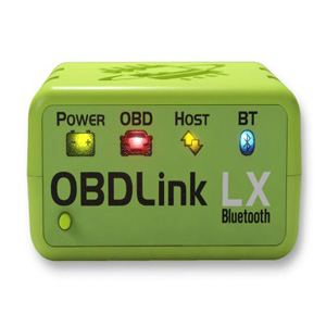 ScanTool 427201 OBDLink LX Bluetooth Professional OBD-II Scan Tool for Android Windows