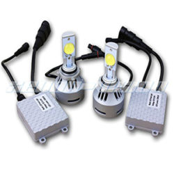 Xenon-Vision 80W 6400LM CREE LED Headlight Conversion Kit - 6500K - All Bulb Sizes - H10 (9140) Cree LED