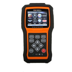 Foxwell Enhance OBDII Diagnostic Scan Tool Nt401 With Professional Oil Light Reset Function Support English, French, German, Spanish, Dutch