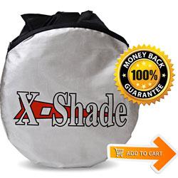 Jumbo Car Windshield Sunshade by X-Shade