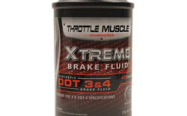 Throttle Muscle TM7877 - Xtreme Synthetic Dot 3 Dot 4 On and Off Road Extreme Race Brake Fluid