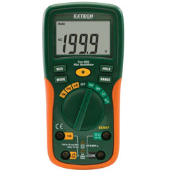 Extech EX205T-NIST True Rms Autoranging Multimeter with Nist