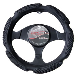 APZONA PU Universal Steering Wheel Cover