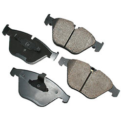 Akebono EUR918 EURO Ultra-Premium Ceramic Brake Pad Set