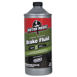 Motor Medic M4032 6 DOT 5 Silicone Brake Fluid