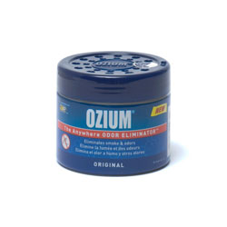 Ozium Smoke & Odors Eliminator Gel. Home, Office and Car Air Freshener