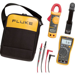Fluke FLUKE-117 323 KIT Multimeter and Clamp Meter Combo Kit