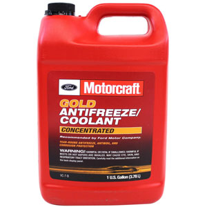 Genuine Ford Fluid VC-7-B Gold Concentrated Antifreeze/Coolant
