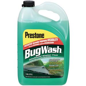 Prestone AS257 Bug Wash Windshield Washer Fluid