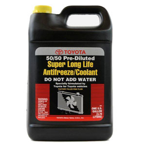 Toyota Genuine Fluid 00272-SLLC2 Long Life Coolant