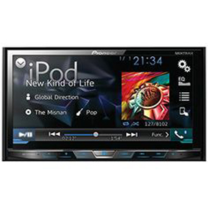 "New -PIONEER AVH-X5700BHS 7"" Double Din Head Unit"