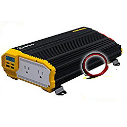 KRIEGER KR1500 1500 Watt 12V Dual Power Inverter