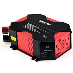 BESTEK 400W Power Inverter DC 12V to AC 110V Car Adapter