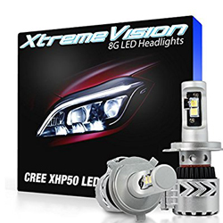 New -XtremeVision 8G 72W 12,000LM - 9005 LED Headlight Conversion Kit