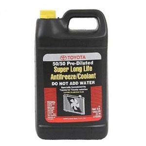 Toyota Genuine Fluid 00272-SLLC2 Long Life Coolant