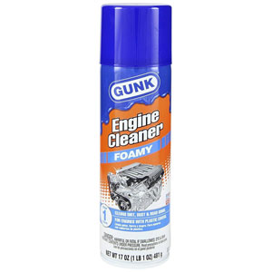 Gunk FEB1 Foamy Engine Brite Engine Cleaner