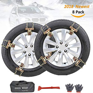 Fun-Driving 8 Pack Tire Chains