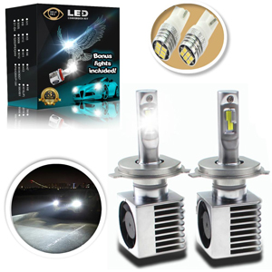 Eagle Eye Lights Extreme H4 LED Headlight Bulbs