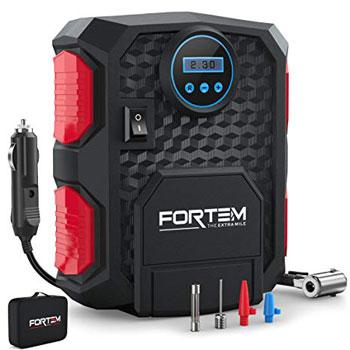 Fortem the Extra Mile Digital Tire Inflator for Car