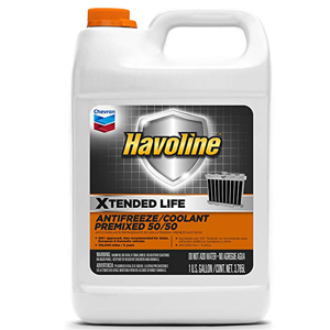 Havoline Xtended Life Antifreeze/Coolant Pre-mix 50/50- 1 Gallon