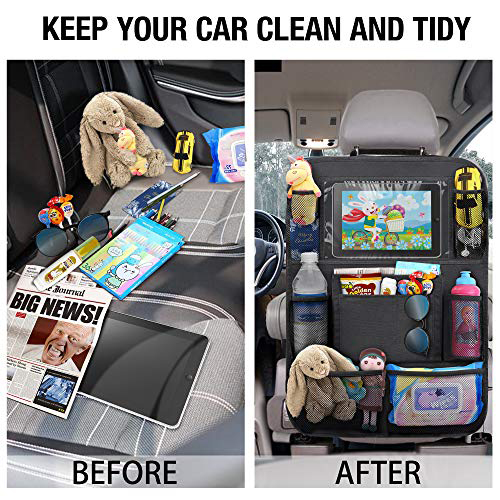How To Use Backseat Organizers