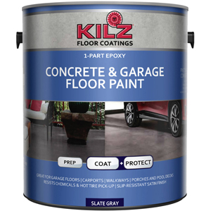 KILZ L377711 1-PART EPOXY ACRYLIC GARAGE FLOOR PAINT