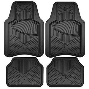 Armor All 78846 Black Rubber Interior Floor Mat