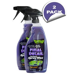 Final Detail Top Shelf Series Instant Spray Wax