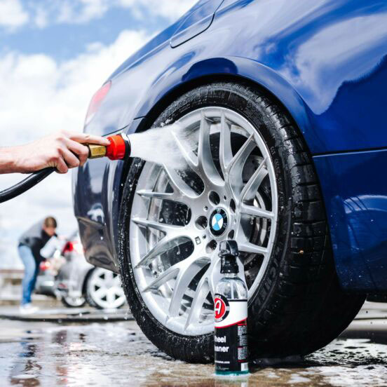 how to use Wheel Cleaner