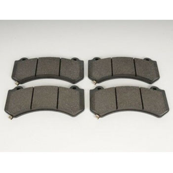 Rear Set 4 PerFor mance Quiet Low Dust Ceramic Brake Pads Faster Stops For