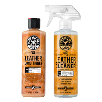 Chemical Guys Leather Cleaner and Conditioner Kit
