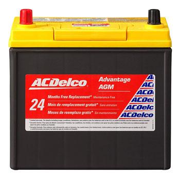 ACDelco ACDB24R Advantage AGM Automotive Battery