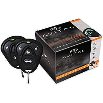 Avital 5105L 1-Way Security Remote Start System