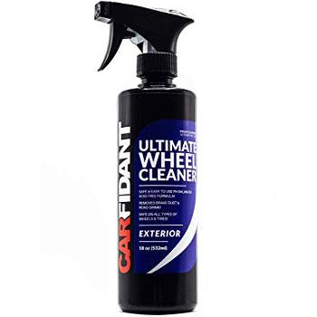 Carfidant Ultimate Wheel Cleaner Spray Premium Rim Tire Cleaner