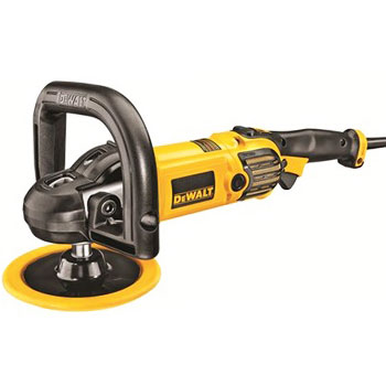 DEWALT DWP849X Car Buffer Polisher with Variable Speed and Soft Start