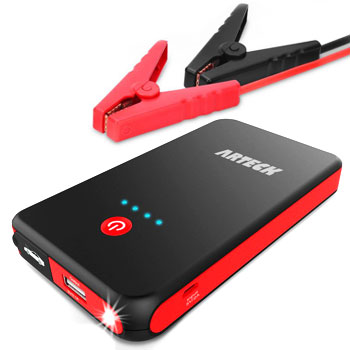 Arteck 8000mAh External Battery Charger Car Jumper