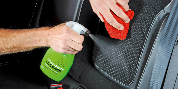 best car upholstery cleaner