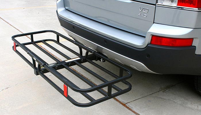 choosing a hitch mounted cargo carrier