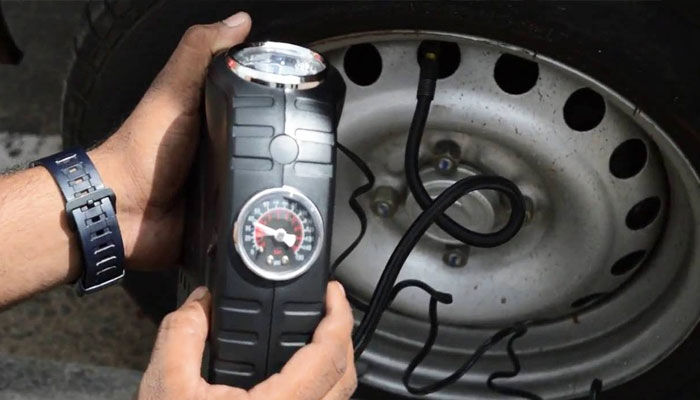 how to inflate tires with tire inflator