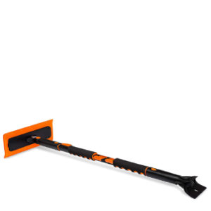 BIRDROCK HOME Snow MOOver Extendable Foam Snow Brush and Ice Scraper